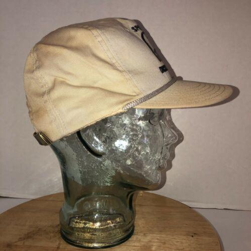 Vintage DUCKS UNLIMITED Sponsor 80s USA Hat Cap Strapback Dorfman Pacific ROPE image 5