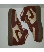 New Nike Air Force 1 Mid '07 LV8 Men's Shoes Plaid Brown Size 10.5 - $148.49