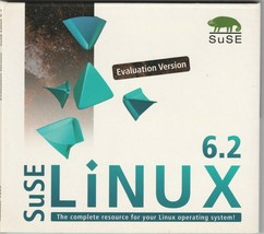 Linux 6.2 ~ Evaluation Version by Suse ~ Summer 1999 - $17.63