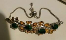 Sts Karis Silver Tone Adjustable Bracelet - $10.22