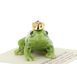 Birthstone Frog Prince October Simulated Tourmaline Miniatures by Hagen-Renaker image 6