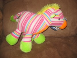 "Striped Horse Brand New Plush Nwt Stuffed Animal W Tags 12"" Sugar Loaf - $7.99"
