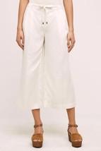 Nwt Anthropologie Joni WIDE-LEG Cropped Pants By Marrakech 25 - $55.24