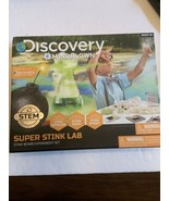 New In Box Discovery Kids Super Stink Lab Stink Bomb Experiment Set ages... - $15.95