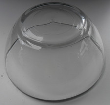 Vintage Glass Bowl in Anchor Hocking Collectible Solid Clear Glass - Made In Fra - $14.99