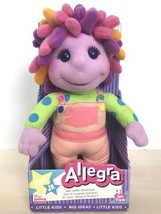 1995 Hasbro Playskool Nick Jr Allegra's Window Plush Allegra Doll New In... - $123.74