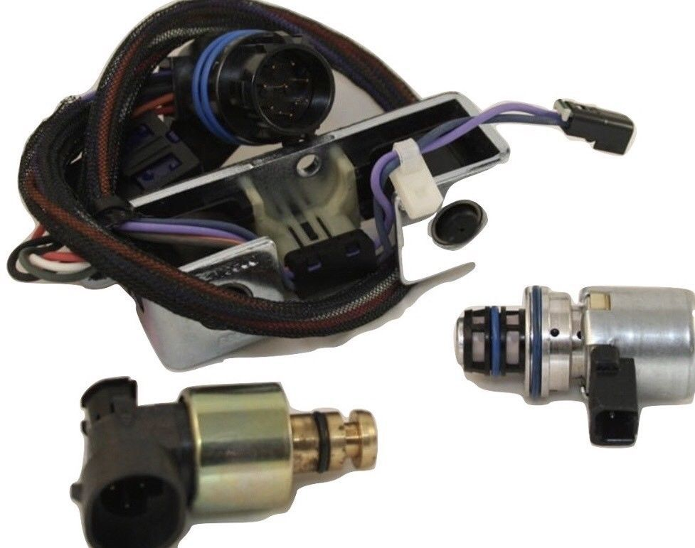A518 Pressure SOLENOID KIT 5pc 1996-1999 JEEP DODGE  42RE 44RE 46RE