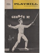 """Palace Theatre Playbill """"GEORGE M!"""" June 1968 with Joel Grey - $3.00"""