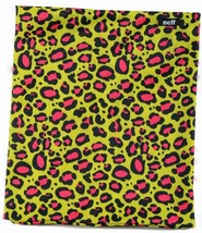 Neff Stretchy Neck Thing Leopard Print Poly Neck Warmer Scarf One Size