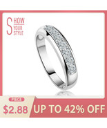 OrsaJewels® Luxury Austrian Zircon Wedding Band For Women Eternity Ring - $5.47