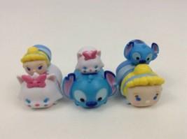 Disney Tsum Tsum 6pc Lot Medium and Small Pairs Stacking Toys Jakks Stit... - $15.10