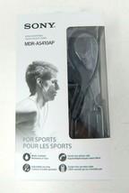 Sony MDR-AS410AP Wired In Ear Headphones Sport Earbuds Water Resistant - $11.99