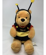 "Walt Disney World Plush Winnie the Pooh Bee Soft Stuffed Animal Toy 14"" ... - $16.99"