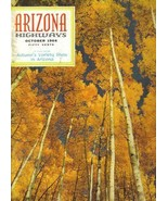 1966 OCTOBER ARIZONA HIGHWAYS BOLA TIE SILVERSMITHS SYLVIA LEWIS KINNEY ... - $22.28