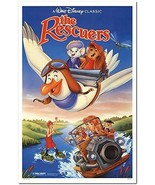 "THE RESCUERS - 27""x41"" Original Movie Poster One Sheet 1989RR Rolled Disney - $29.39"