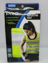Pro Strength Reflective Vest One Size Fits Most Green Safety Comfort Lig... - £8.44 GBP