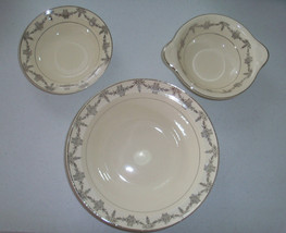 Taylor Smith & Taylor 1825 Vegetable Bowl And 2 Cereal Bowls - $39.99