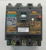 Fuji Electric 50 amp breaker EG53F 100-240V 3 Pole - $39.99