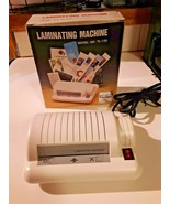 Model TL-120 World Office Products Electric Laminator in Box - $34.60