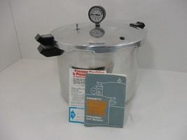 Vintage Presto Deluxe 17 Qt. Pressure Cooker Canner Model 0175004 No. 409A - $52.35