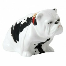 Royal Doulton Bulldog Patch Figurine New Box only scuffed # BULL26374 - $296.01