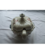 Ceramic Gravy Sauce Boat or Soup Server With Lid And Ladle Off White - $94.88