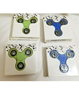 8 Fidget Hand Spinners Holiday Stocking Stuffer Gift Green Blue New - $27.95