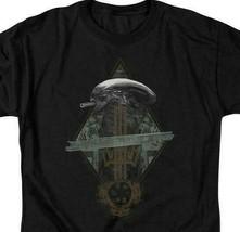 Alien t-shirt Prison Planet Collage Sci-Fi franchise cotton graphic tee TCF483 image 2