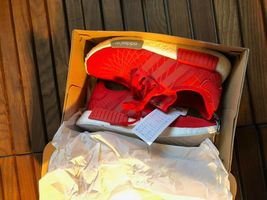 Adidas NMD Runner Red Size 10 New image 3