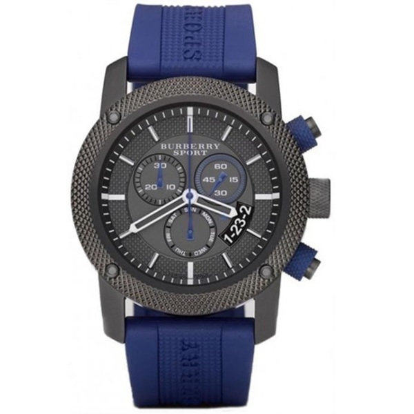 b58c3c4ea505d Rry mens bu7714 endurance chronograph blue rubber watch c4f1bed5 6526 4f96  b9dc be08b36f2566 600
