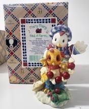 """Enesco Mary Mary Had A Farm #273422 1997 """"You Lift My Holiday Spirits"""" Hen and R - $31.49"""