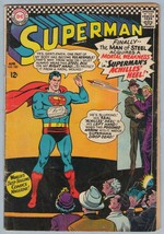 Superman 185 Apr 1966 GD-VG (3.0) - $11.21