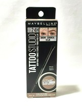Maybelline TattooStudio Brow Pomade Long Lasting Buildable Formula Light... - $7.91