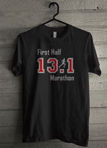 First Half Marathon 13 Men's T-Shirt - Custom (285) - $19.12+