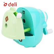 Deli® Pencil Sharpener Stationery Students Manual Mechanical School Bag ... - $12.69
