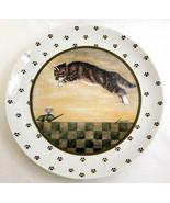 Lowell Herrero Vandor 1986 Collection Vintage Decorative Cat Mouse Plate... - $24.99