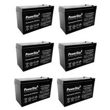 12V 9AH SLA Battery Replaces gp1272 np7-12 bp7-12 npw36-12 ps-1270 ub1280 - 6PK - $94.56