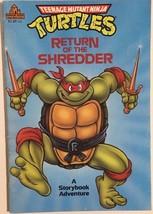 TEENAGE MUTANT NINJA TURTLES Return of the Shre... - $9.89