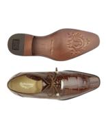 Men's Shoes  Belvedere Lorenzo Split-toed Alligator Derby Peanut B01 - £643.03 GBP