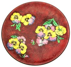 pansy c1960 Very Large Hand Painted Royal Doulton Plate Pattern D6402 - $222.95