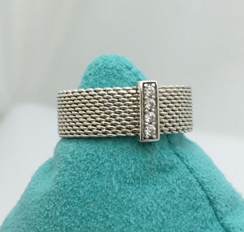 1864cae00 Tiffany & Co Sterling Silver Somerset Mesh and 50 similar items