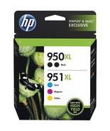 HP 950XL 951XL F6V12FN Double Black Three Color Combo Cartridges - $139.99