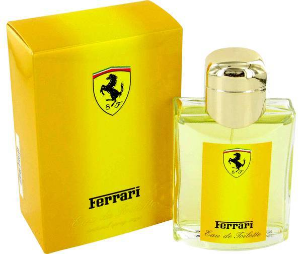 Ferrari yellow cologne 4.2 oz