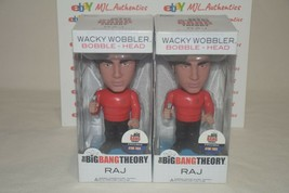 The Big Bang Theory Raj Koothrappali Wacky Wobbler Bobblehead Funko Star Trek - $18.97