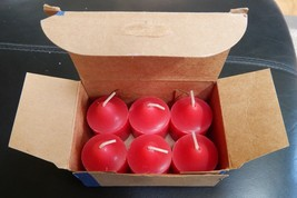 Partylite Votive Candles 6 new with box CRIMSON BERRY V06226 - $10.53