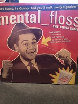 Mental_Floss The Pressman Trivia Game Funny Quirky Adult Board Game New Sealed - $19.79