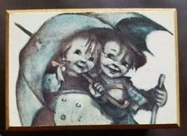 Vintage Reuge Mechanical Music Box 18 Tine - Raindrops Keep Falling on My Head - $22.00