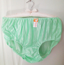 "LL Hip 47"" Vintage Female Woman Underwear Panty Polyester Nylon Light Green - $4.75"