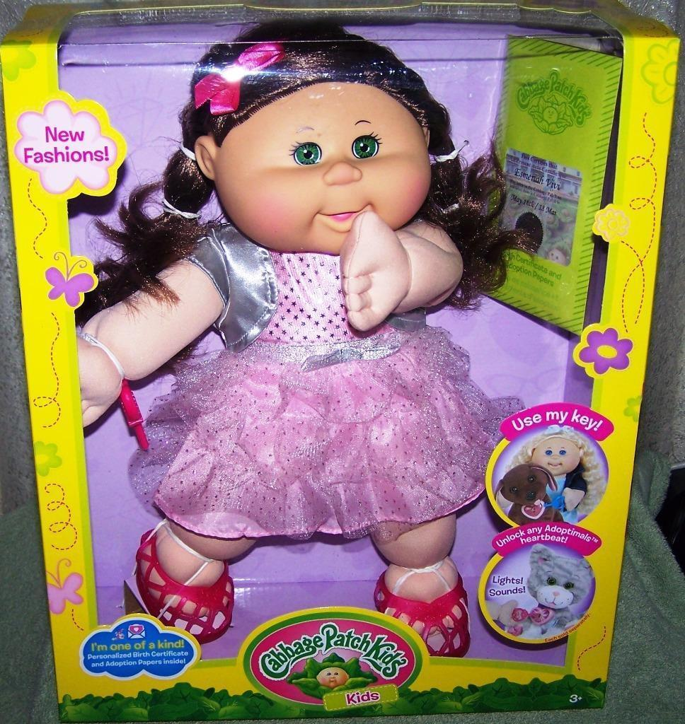 cabbage patch kids for adoptimals esmeriah vivi may 18th doll new