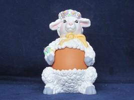 Avon 1997 Egg Pals Lamb (Easter Egg Holder) - Mint In Box - $7.12